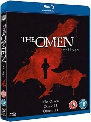 The Omen Trilogy 1 2 3 One Two Three (Lee Remick) New Region B Blu-ray