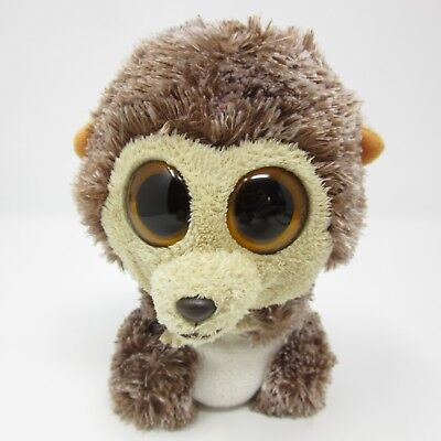 39182e04609 Ty Beanie Boo Spike Hedgehog brown cream orange soft toy plush small 6