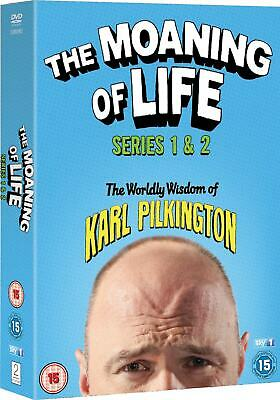 The Moaning of Life Season 1 2 Series One Two First Second New Region 4 DVD