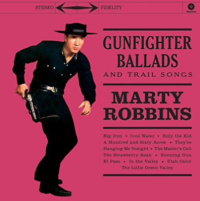 Robbins Marty-Gunfighter Ballads And Trail Songs [Lp] VINYL NEW