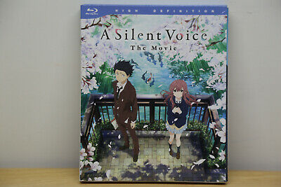 A Silent Voice - Deluxe Edition The Movie Blu-Ray Disc TOP Zustand mit OVP
