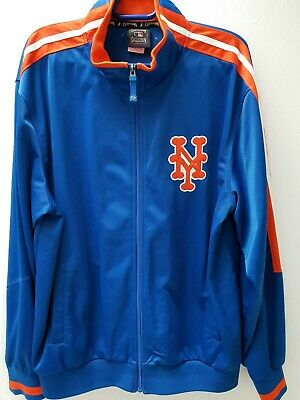New York Mets Majestic Cooperstown Therma Base Jacket XL