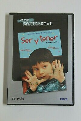 Documental SER Y TENER Dvd Original Precintado. Castellano y Frances