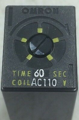 Delay Timer (0-60 seconds) OMRON MY2V 110Vac