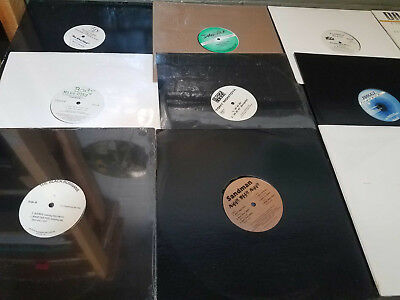 "Lot of 100 Underground Gangsta Hip Hop / Rap Indies 12"" Singles Vinyl DJ Records"