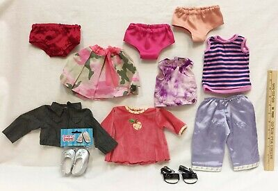 American Girl Doll Clothes Shoes Lot