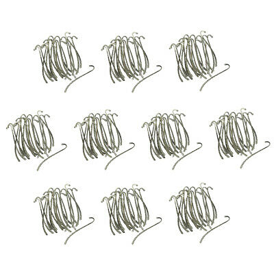 200pcs Tibetan Silver Metal Bookmarks Book Mark With Hook Jewelry Findings