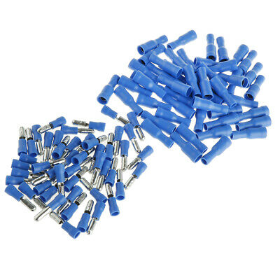 100PCS MALE Wire Crimp Terminal Nylon Quick ... on