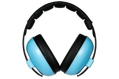Baby Shells Ear Defenders for Kids - Blue.  Ideal for outdoor family events!