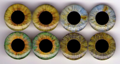 Custom Eyechips for Neo Blythe, Jecci Five, Icy Eye chips 14mm 13,5mm