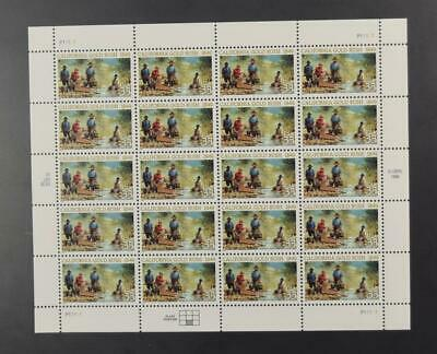 Us Scott 3316 Pane Of 20 California Gold Rush Stamps 33 Cent Face Mnh