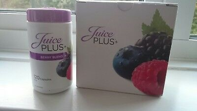 Juice Plus Berry Blend Capsules 120  new sealed.  Dates 2020. 1 tub.