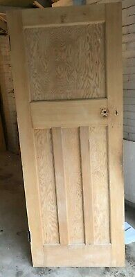 Internal Pine Doors 1930's Professionally Stripped Very Good Condition