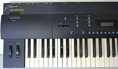 Vintage E-MU Proteus Plus Orchestral Performance Keyboard, Exc, in Original Box