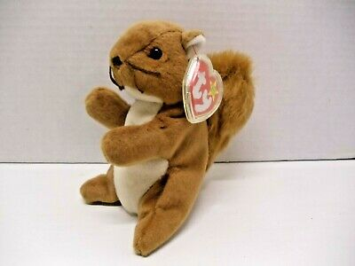 2ad75d0c6df TY BEANIE BABIES Nuts the Squirrel