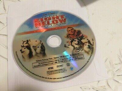 Eight Below (DVD, 2006, Full Frame)Disc Only 52-183