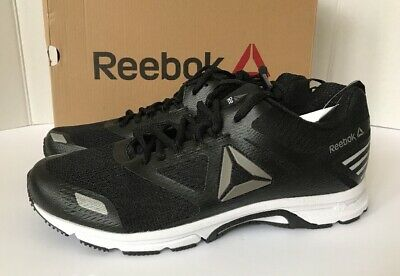 2db2a21b5297 MEN S REEBOK CRUISER Running Shoes X-Wide 4E Black Gray Sizes!! NIB ...