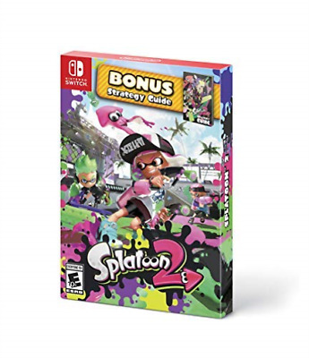 Splatoon 2 Sp Nsw Game New