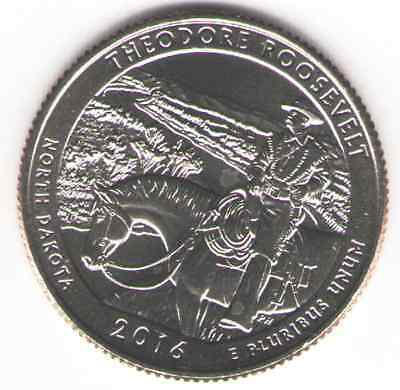 US. 2016-D. Theodore Roosevelt National Park, ND (February 25, 1946) UNC