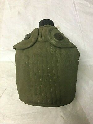 WWII/Korean War US ARMY issue Canteen Dated 1945 issued 1951 to 353rd Batallion
