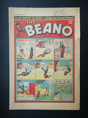 Beano Comic No. 880 - May 28th - June 3rd 1959, 60th Birthday Present/Gift, VG-