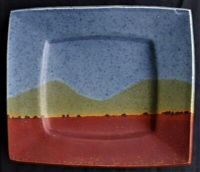 Janet Deboos Footed Pottery Plate