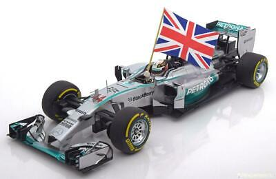 1:18 MC Mercedes AMG W05 Winner Abu Dhabi, Champion Hamilton 2014