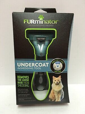 FURminator Undercoat deShedding Tool Small Cat Long Hair Grooming P-92927