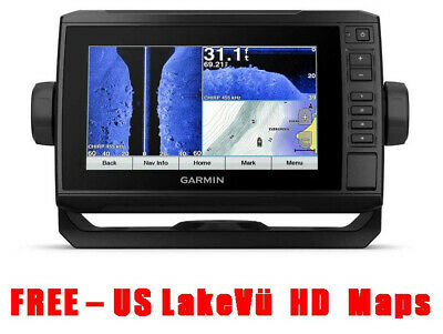 Garmin echoMAP CHIRP Plus 73sv US LakeVu HD w/ CV52HW-TM Transducer 010-01897-01