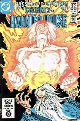 Secrets of Haunted House #45 in Very Fine minus condition. DC comics [*pj]