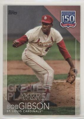 2019 Topps 150 Years of Professional Baseball Greatest Players - Bob Gibson Card