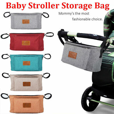 Kid Pram Puschair Stroller Buggy Baby Cup Bottle Holder Storage Bag Organiser