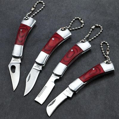 Outdoor Camping Fishing Hunting Mini Pocket Folding Knife Stainless Steel Super