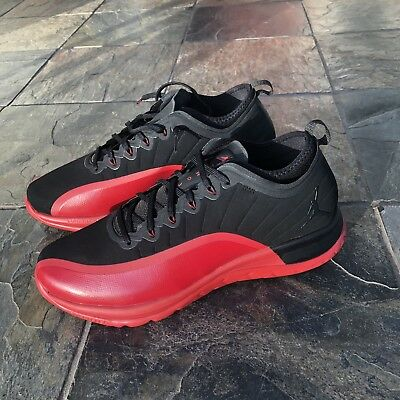 7edba35de175 NIKE AIR JORDAN Trainer Pro Men s Sz 8 Training Shoes Black Red ...
