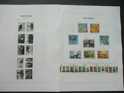 ESTATE: Great Britain Collection on Pages - Must Have!! Great Value (P1252)
