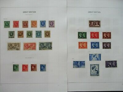 ESTATE: Great Britain Collection on Pages - Must Have!! Great Value (P1279)