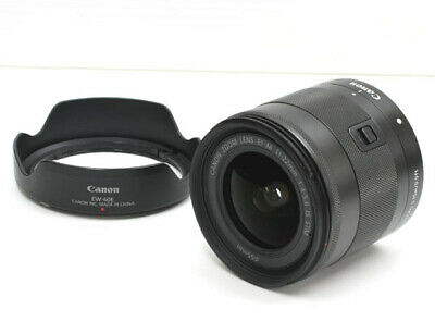 Canon EF-M 11-22 mm f/4.0-5.6 IS STM Lens **EXCELLENT** Condition