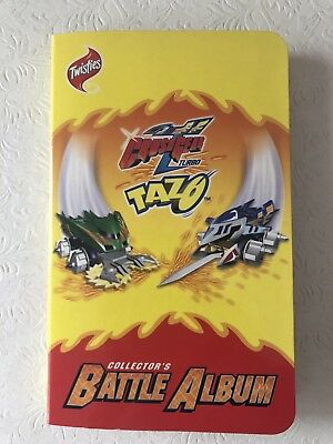 Extremely Rare Complete Crush Gear Turbo Tazos in Collectors Battle Album