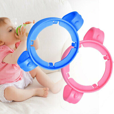 Baby Cup Nature Feeding Bottle Handles Holder Easy Grip For  FEZ
