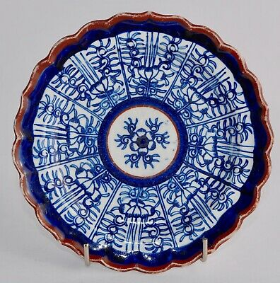 1813-1840 Flight, Barr & Barr ROYAL LILY Plate 16.2cm Decorated Both Sides FBB