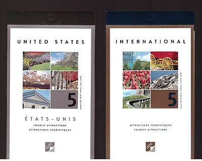 Canada 2001 Tourist Attractions 2 Booklet mint stamps complete