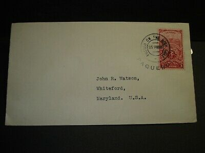 Ship S/S URUGUAY Naval Cover 1948 PAQUEBOT