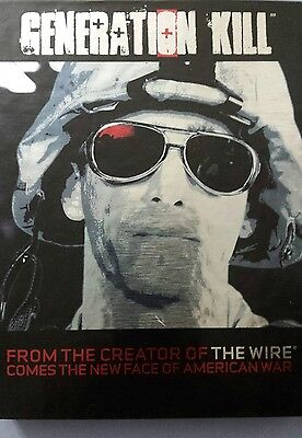 GENERATION KILL Blu-ray Disc, 2017, 3-Disc Set Complete Mini Series HBO Mint!