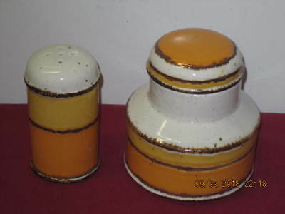 "Midwinter - Stonehenge  ""sun""  Sugar Bowl Plus  Salt Shaker"