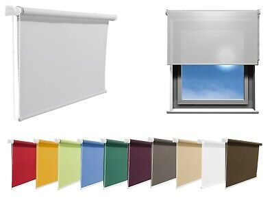 Made To Measure Window Roller Blinds, Red, Blue, Green, Orange, White and More