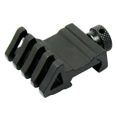 Tactical 4 Slot 45 Degree Angle Offset Rail Mounts For 20mm Rail Weaver Hunting