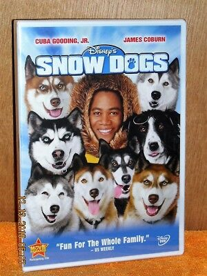 Snow Dogs (DVD, 2002) DISNEY Cuba Gooding Jr NEW James Coburn fun for the family