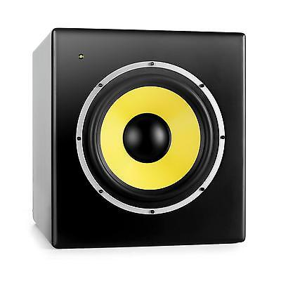 Power Dynamics Cassa Monitor Subwoofer Attivo Studio Altoparlante 175W