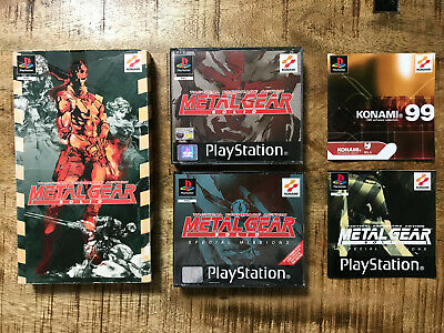 Metal Gear Solid Double Pak - Big / Long Box - Playstation PS 1 (2/3) - OVP