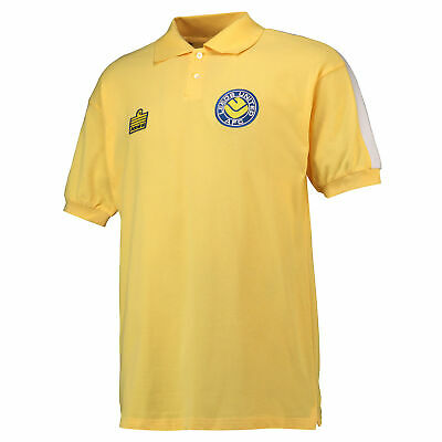Leeds United 1978 Admiral Football Away Retro Shirt Jersey Tee Top Mens